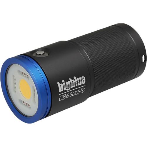 Bigblue CB6500PB Warm White Rechargeable Video Dive Light