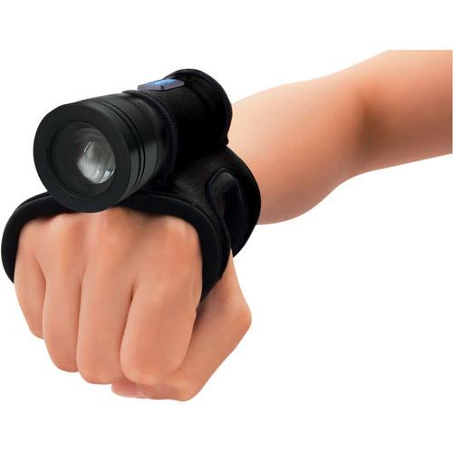 Bigblue 250 Lumen LED Light with Glove (Black)