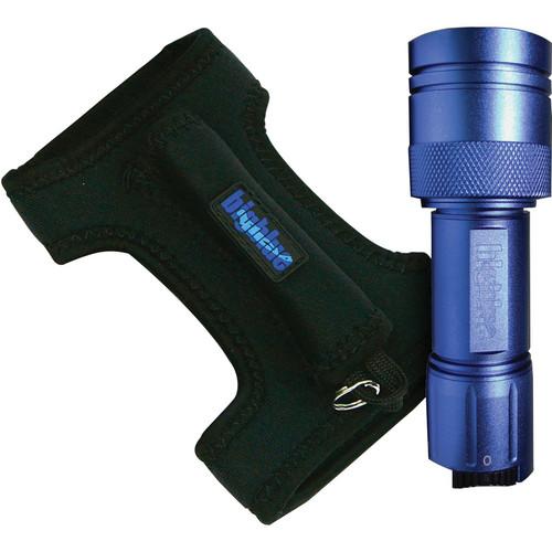 Bigblue 250 Lumen LED Light with Glove (Blue)