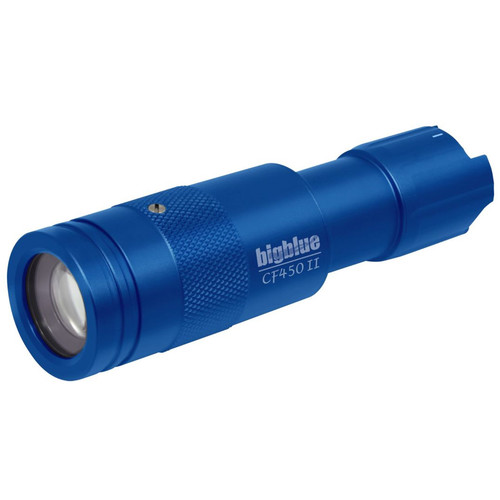 Bigblue 450-Lumen Adjustable-Beam Dive Light (Blue)