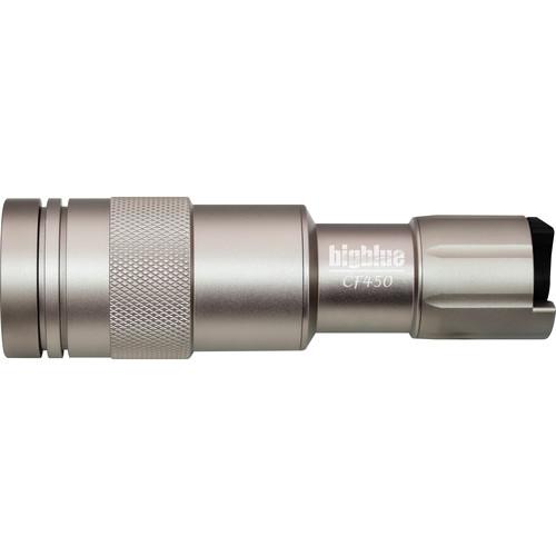 Bigblue CF450 LED Dive Light (Silver)