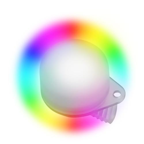 Bigblue Easy Clip Multi-Color Rainbow Marker Light