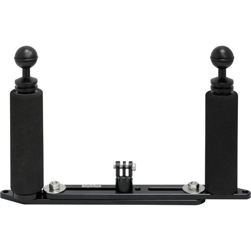 Bigblue Extendable Mounting Tray with Dual Grips for GoPro Camera