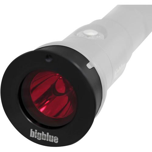 Bigblue External Red Color Filter for AL1100NP, AL1000P, and AL900P LED Dive Lights