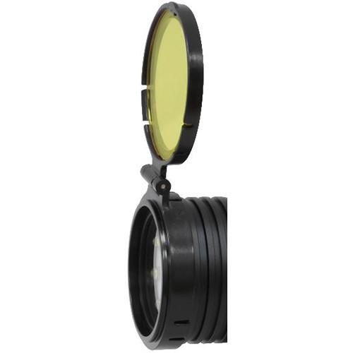 Bigblue External Yellow Color Filter for VTL3100P, VL3500P, VTL5500P, and VL7500P LED Dive Lights