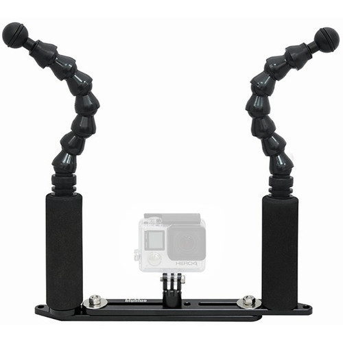 "Bigblue Extendable Camera Tray with Two 7"" Flexible Arms"