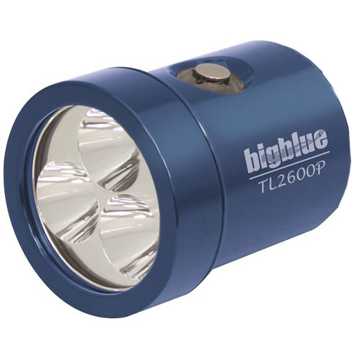 Bigblue Light Head for TL2600P Rechargeable Dive Light (Glossy Blue)