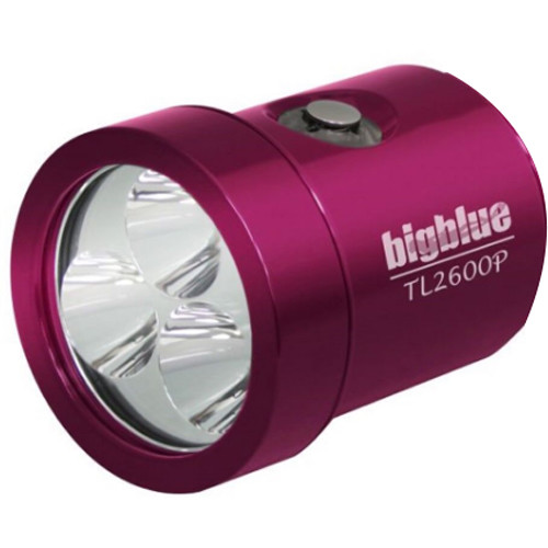 Bigblue Light Head for TL2600P Rechargeable Dive Light (Pink)