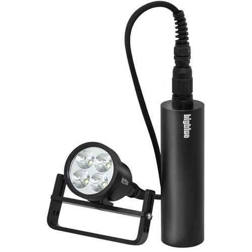 Bigblue TL4800P Technical LED Dive Light Head (Black)