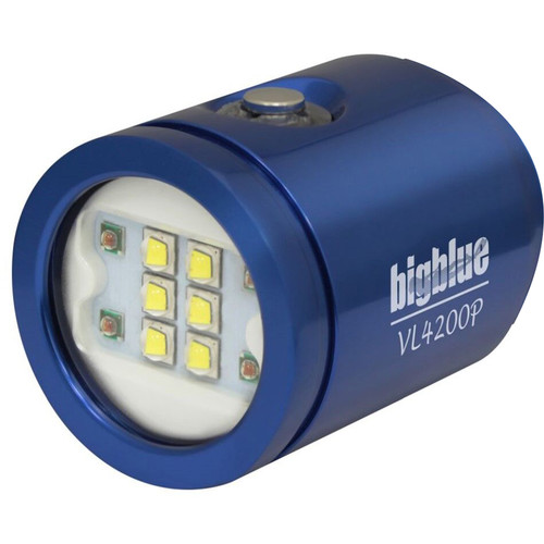 Bigblue Light Head for VL4200P Rechargeable Dive Light (Blue)