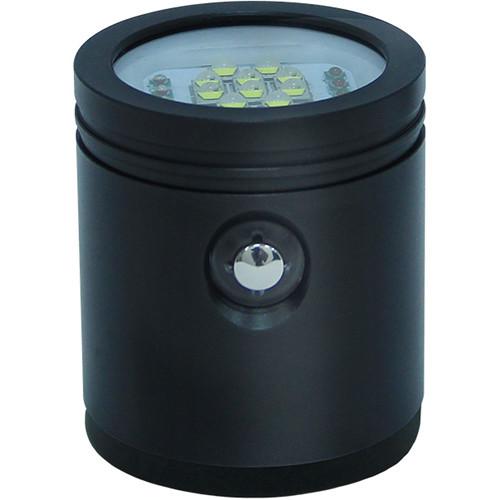 Bigblue VL7200P Tri-Color Video LED Dive Light Head (Black)