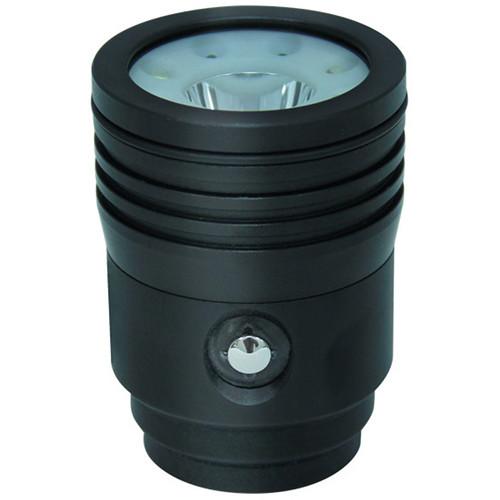 Bigblue VTL3500P Video/Technical LED Dive Light Head (Black)
