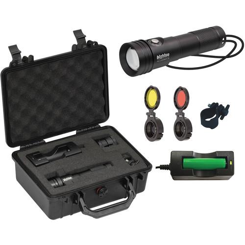 Bigblue AL1200WP-II Wide Beam LED Dive Light with Side Switch