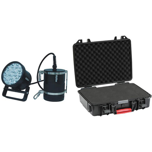 Bigblue TL18000PC Technical LED Canister Dive Light with Protective Case (Black)