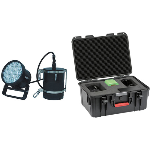 Bigblue TL18000PC 18000 Lumens Canister Technical Light with PC106 Protective Case (Black)