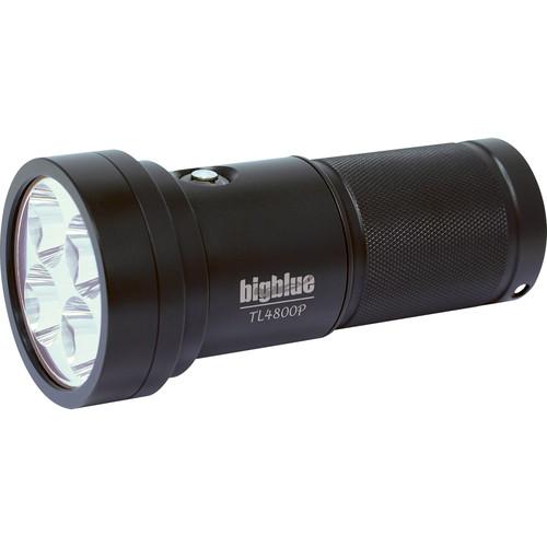 Bigblue TL4800P Technical LED Dive Light (Black)