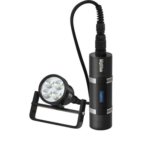Bigblue TL4800PC-SLIM Technical LED Dive Light (Black)