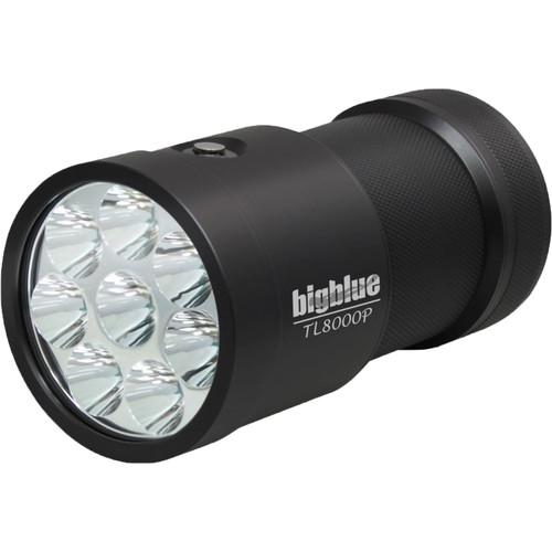 Bigblue TL8000P Narrow-Beam Technical Dive Light