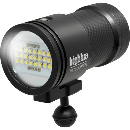 Bigblue VL15000P-PRO MINI Video LED Dive Light (Black)