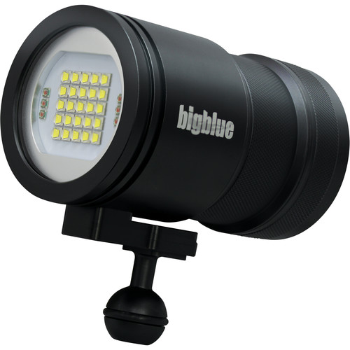 Bigblue VL15000P Pro Video LED Dive Light (Black)