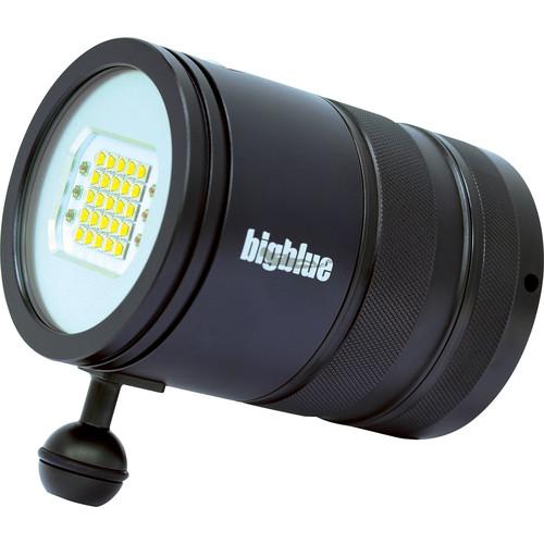 Bigblue VL15000PM Video LED Dive Light (Black)