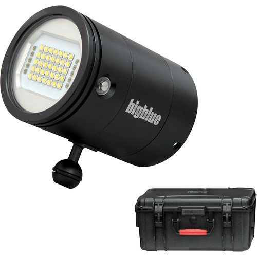 Bigblue VL25000PM Video Dive Light with Protective Case (Black)