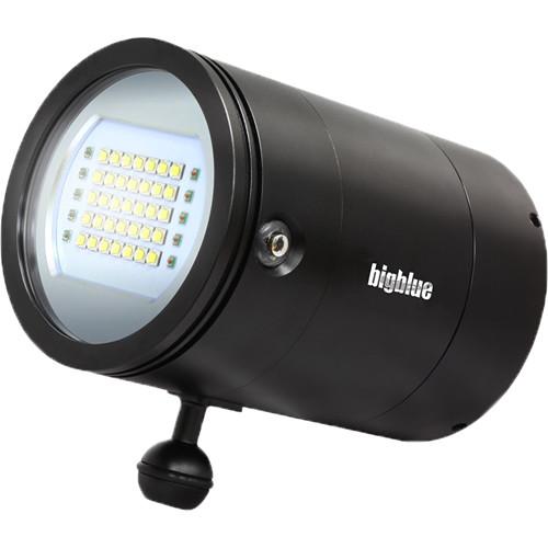 Bigblue VL33000P Mini Video LED Dive Light (Black)