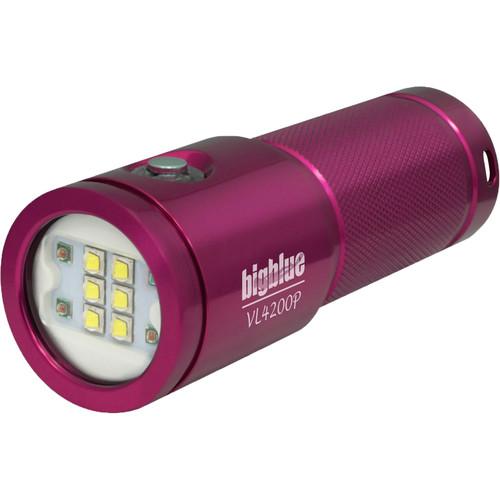 Bigblue Glossy Pink Video Light
