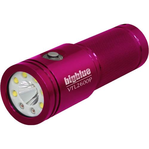 Bigblue Glossy Pink Video/Tech Combo Light