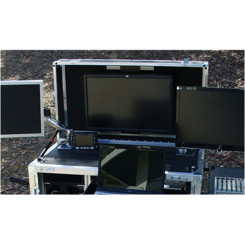 BigFoot Flip Out Monitor Top for Bigfoot Cubes Cabinets/Full Size Carts