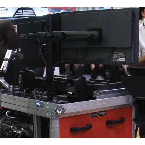 BigFoot Ergotron Parabolic Style Dual Monitor Mount
