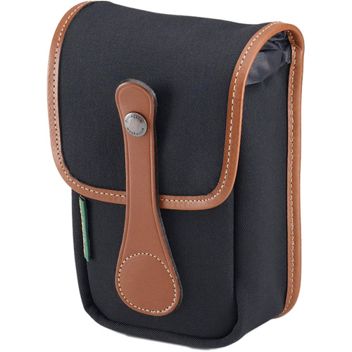 Billingham AVEA 5 Pouch (Black FibreNyte & Tan Leather Trim)