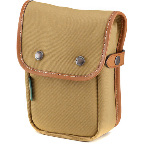 Billingham Delta End Pocket (Khaki with Tan Trim, FiberNyte)