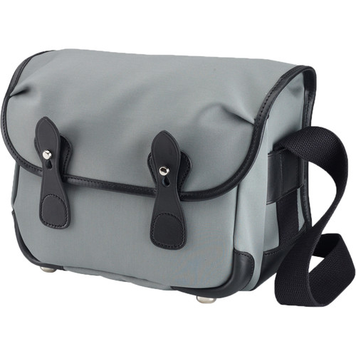 Billingham L2 Camera Bag (Gray Canvas & Black Leather Trim)
