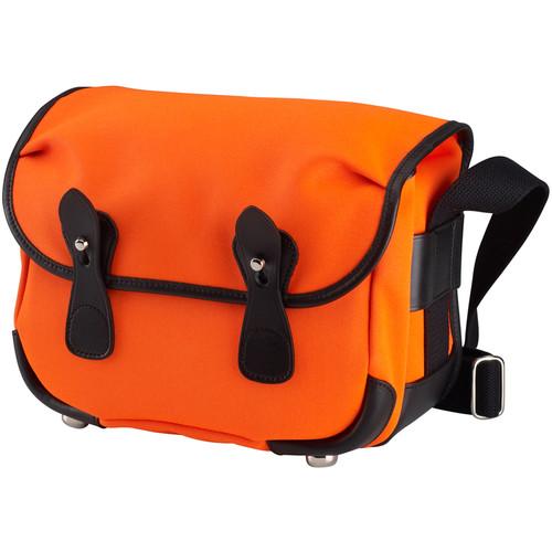 Billingham L2 Canera Bag (Neon Orange Canvas & Black Leather Trim)