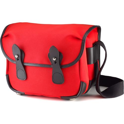Billingham L2 Camera Bag (Neon Red Canvas & Black Leather Trim)