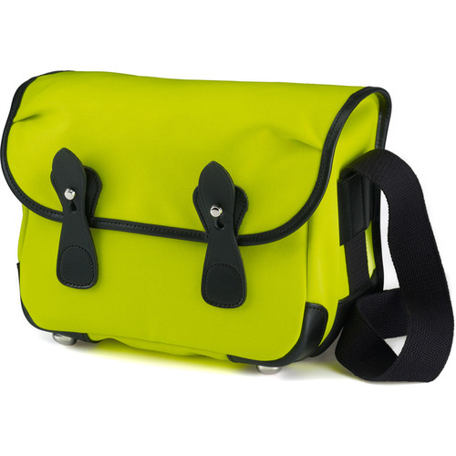 Billingham L2 Canera Bag (Neon Yellow Canvas & Black Leather Trim)