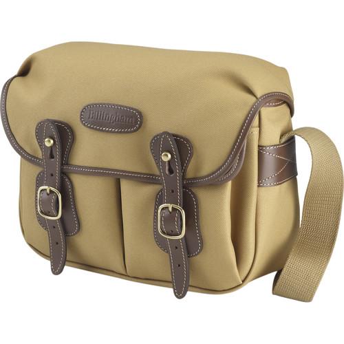 Billingham Hadley Shoulder Bag Small (Khaki with Chocolate Leather Trim)