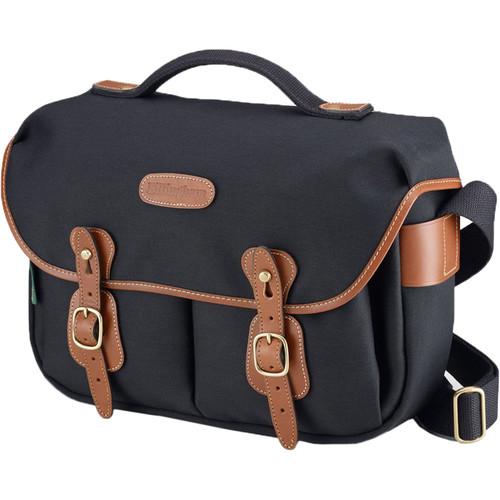 Billingham Hadley ProShoulder Bag (Black FibreNytre & Tan Leather)