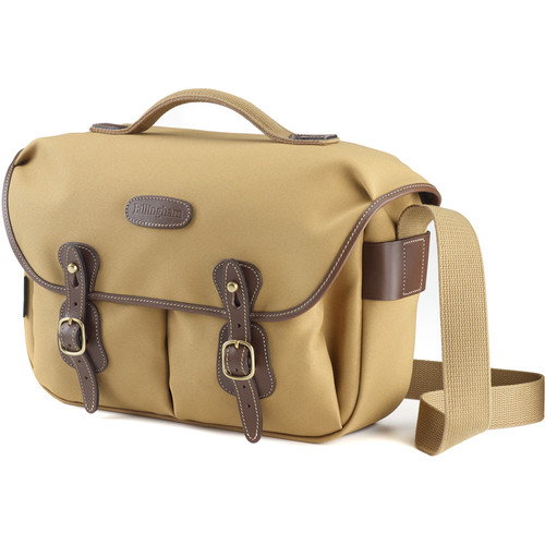 Billingham Hadley Pro Shoulder Bag (Khaki FibreNyte & Chocolate Leather)