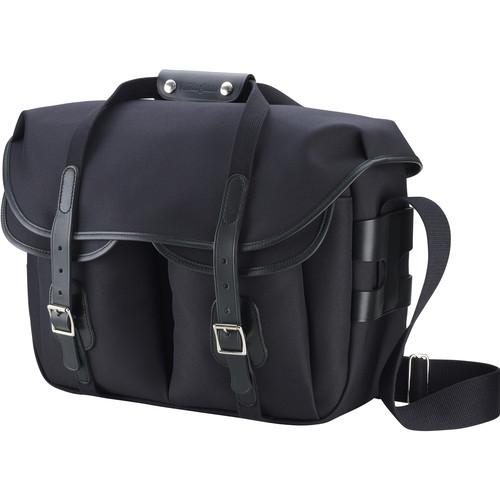 Billingham Hadley Large Pro Shoulder Bag (Black FibreNyte & Black Leather)