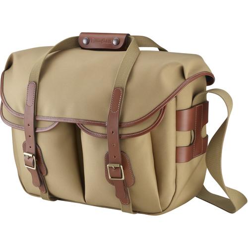 Billingham Hadley Large Pro Shoulder Bag (Khaki Canvas & Tan Leather)