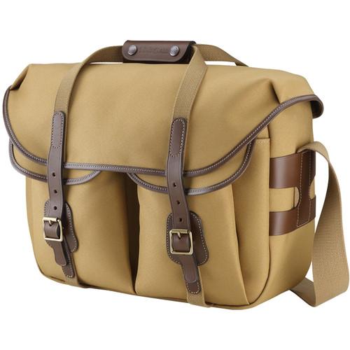 Billingham Hadley Large Pro Shoulder Bag (Khaki Fibrenyte & Chocolate Leather)