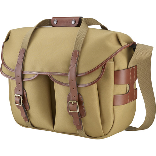 Billingham Hadley Large Pro Shoulder Bag (Khaki FiberNyte & Tan Leather)