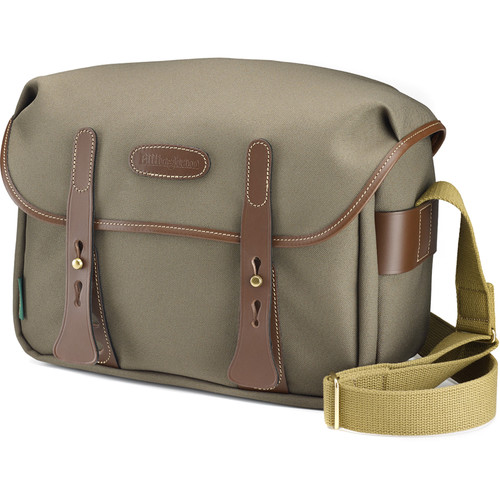 Billingham f/Stop 1.4 Camera Bag (Sage with Chocolate Leather Trim)