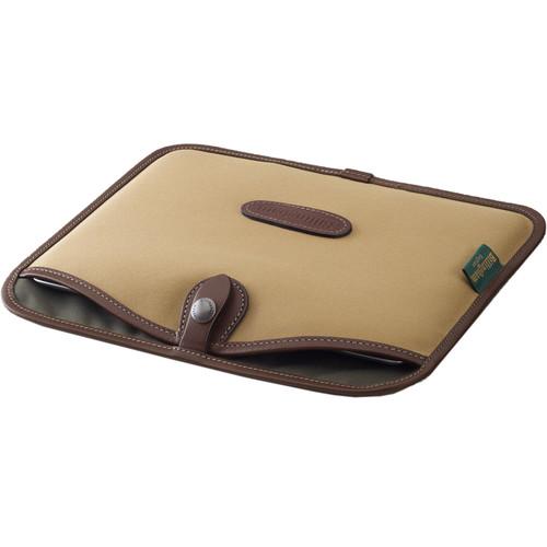 Billingham Tablet Slip (Khaki with Chocolate Trim)