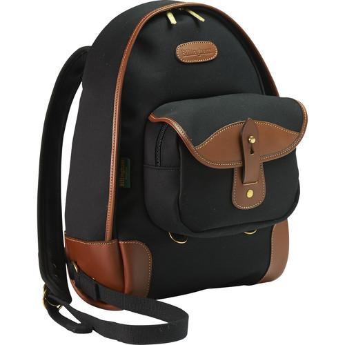 Billingham Rucksack 35 (Black Canvas/Tan Leather)