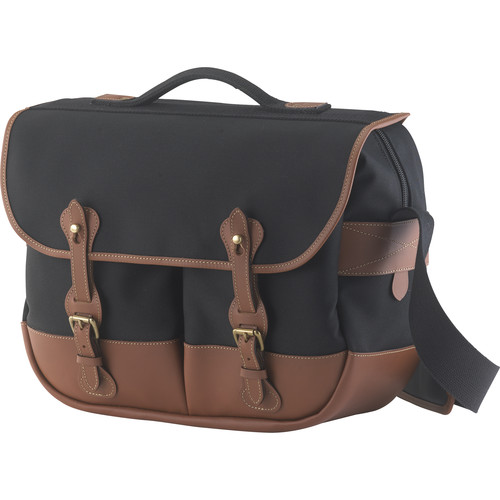 Billingham Eventer Photo Bag (Black Canvas/Tan Leather)