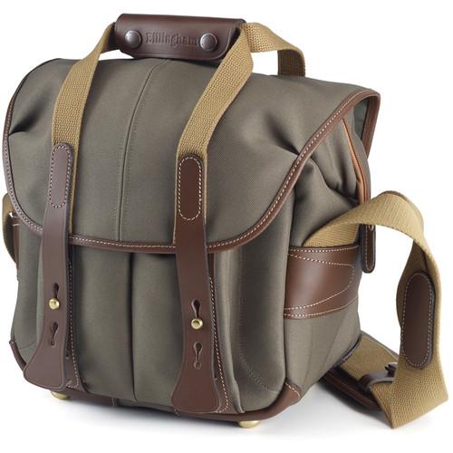 Billingham 107 Camera Bag (Sage with Chocolate Leather)