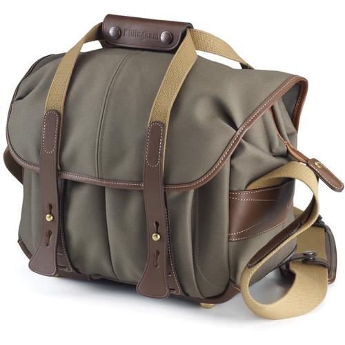 Billingham 207 Camera Bag (Sage with Chocolate Leather)